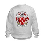 Barroso Family Crest Kids Sweatshirt