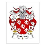 Barroso Family Crest Small Poster
