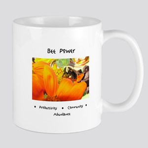 Bee Power Flower Mugs