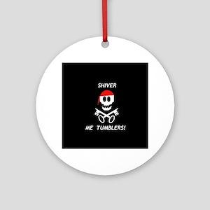 ShiverMe1 Round Ornament