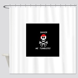 ShiverMe1 Shower Curtain