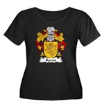 Barros Family Crest Women's Plus Size Scoop Neck D
