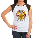 Barros Family Crest Women's Cap Sleeve T-Shirt