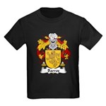 Barros Family Crest Kids Dark T-Shirt
