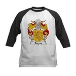 Barros Family Crest Kids Baseball Jersey