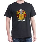 Barros Family Crest Dark T-Shirt