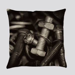 Nuts and Bolts Everyday Pillow