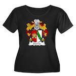 Barrio Family Crest Women's Plus Size Scoop Neck D
