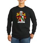 Barrio Family Crest Long Sleeve Dark T-Shirt