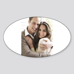Prince William and Kate Sticker