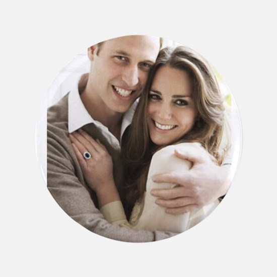 Prince William and Kate Button