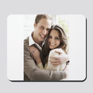 Prince William and Kate Mousepad