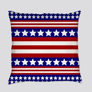 Stars and Stripes Everyday Pillow