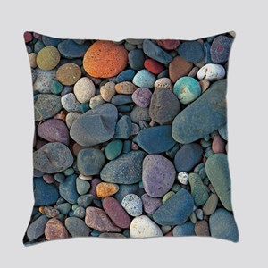 Beach Rocks Everyday Pillow