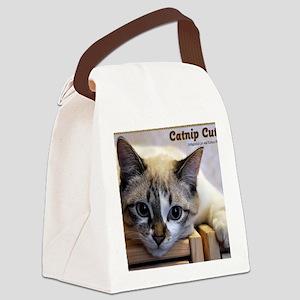 Catnip Cuties Calendar Front Canvas Lunch Bag