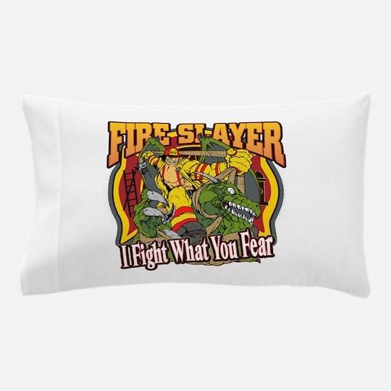 Fire Slayer Firefighter Pillow Case