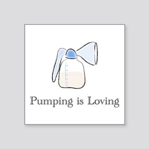 pumping Sticker