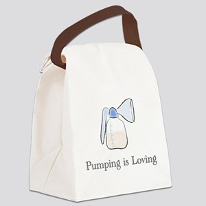 pumping Canvas Lunch Bag