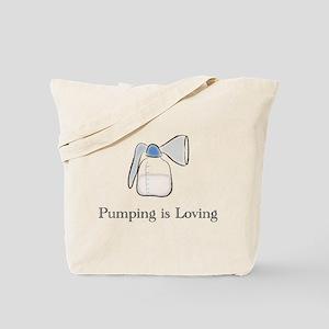 pumping Tote Bag