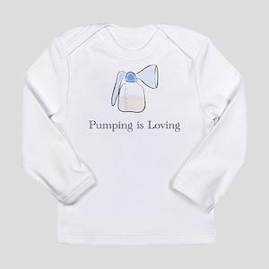 pumping Long Sleeve T-Shirt