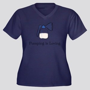 pumping Plus Size T-Shirt