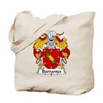 Barrantes Family Crest Tote Bag