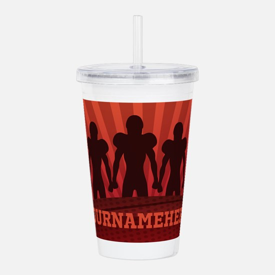 Personalized American Acrylic Double-wall Tumbler