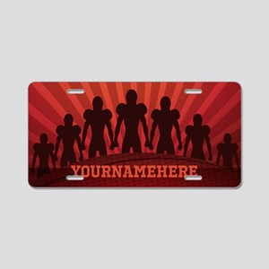 Personalized American Footb Aluminum License Plate