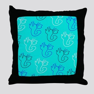 Loony Lobster for Leonard Throw Pillow