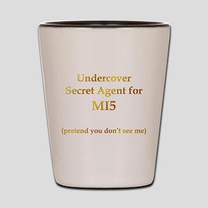 mi5agent Shot Glass