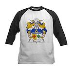 Barcelo Family Crest Kids Baseball Jersey