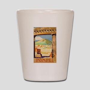 Pompei Italy ~ Vintage Travel Shot Glass