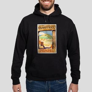 Pompei Italy ~ Vintage Travel Hoodie (dark)