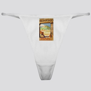 Pompei Italy ~ Vintage Travel Classic Thong