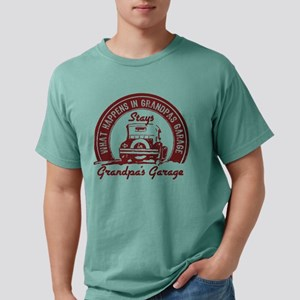 Grandpa's Garage Mens Comfort Colors Shirt
