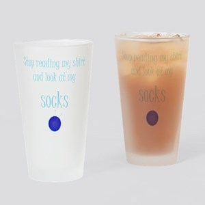 2-socks 2 Drinking Glass