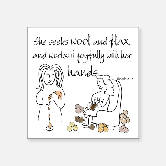 proverbs 31_13v2.png Sticker