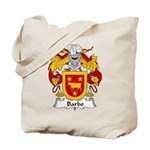 Barbo Family Crest Tote Bag