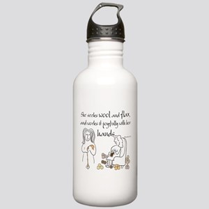 proverbs 31_13v2 Water Bottle