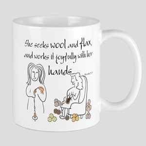 proverbs 31_13v2 Mugs
