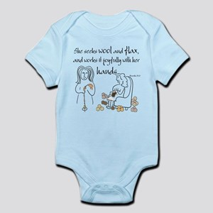 proverbs 31_13v2 Body Suit