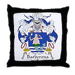 Barberena Family Crest Throw Pillow
