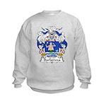 Barberena Family Crest Kids Sweatshirt