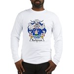 Barberena Family Crest Long Sleeve T-Shirt