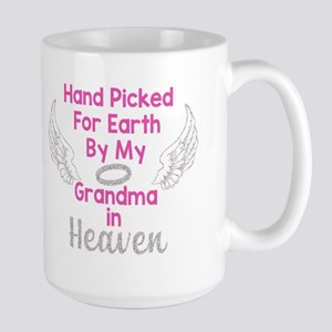 Hand Picked for Earth Large Mug