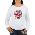 Barbens Family Crest Women's Long Sleeve T-Shirt