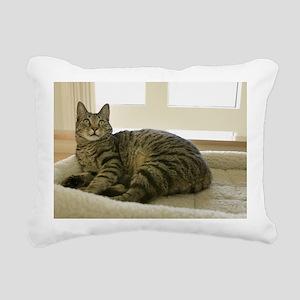 Catbed Kitty Rectangular Canvas Pillow