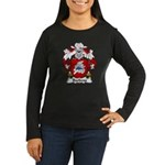Barbens Family Crest Women's Long Sleeve Dark T-Sh