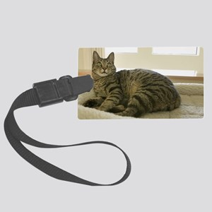 Catbed Kitty Large Luggage Tag
