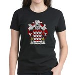Barbaran Family Crest  Women's Dark T-Shirt